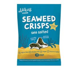 Abakus Seaweed Crisps – Lightly Salted (12x18g)