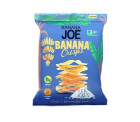 Banana Joe - Sea Salt Crisps (12 x 23g)