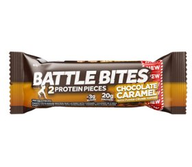 Battle Bites Chocolate Caramel Protein Bar (12 x 62g)
