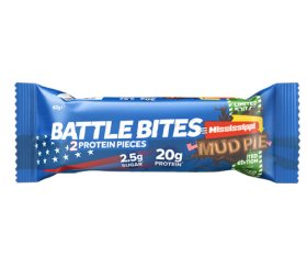 Battle Bites Mississippi Mud Pie Protein Bar (12 x 62g)