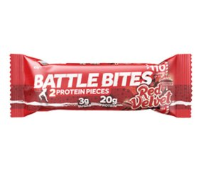 Battle Bites Red Velvet Protein Bar (12 x 62g)