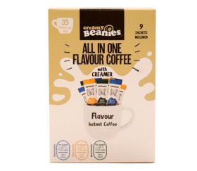 Beanies All-in-One Coffee Sachet 6 x (9x7g)