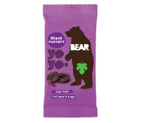Bear - Blackcurrant Fruit Yo Yos (18 x 20g)