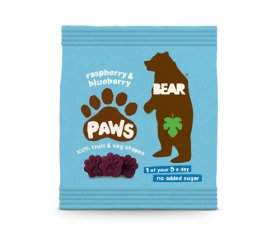 Bear - Raspberry & Blueberry Paws (18 x 20g)