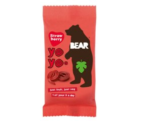 Bear - Strawberry Fruit Yo Yos (18 x 20g)