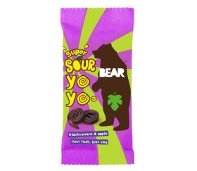 Bear Yo-Yo's Super Sour Blackcurrant & Apple (18 x 20g)