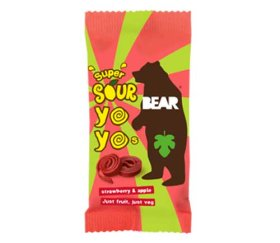 Bear Yo-Yo's Super Sour Strawberry & Apple (18 x 20g)
