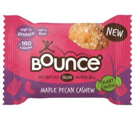 Bounce Plant Protein Maple Pecan Cashew Ball (12 x 35g)