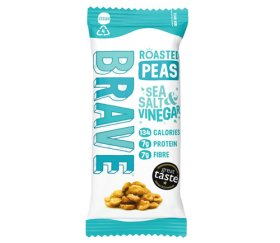 Brave Superfood Roasted Peas - Sea Salt & Vinegar 12 x 35g