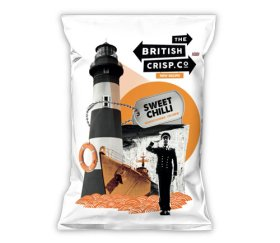 British Crisp Co Handcooked Crisps - Sweet Chilli (26x40g)