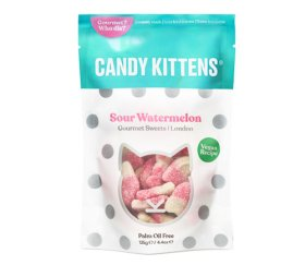Candy Kittens Treat Bags Sour Watermelon (9 x 125g)
