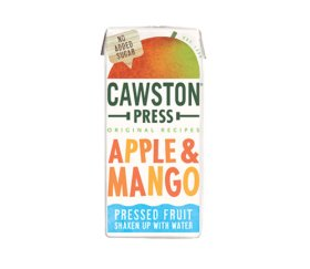 Cawston Press Kids Apple & Mango Fruit Water (18 x 200ml)