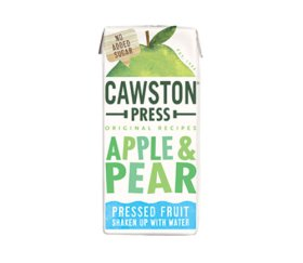 Cawston Press Kids Apple & Pear Fruit Water (18 x 200ml)