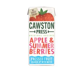 Cawston Press Kids Summer Berries Fruit Water (18 x 200ml)