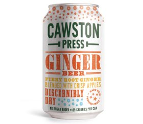 Cawston Press Sparkling Ginger Beer (24 x 330ml)