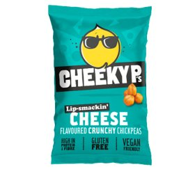 Cheeky P's Roasted Chickpeas - Cheese (12 x 40g)