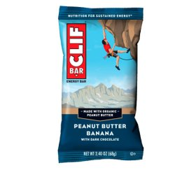 Clif Bar Peanut Butter Banana & Dark Chocolate Protein Bar 12 x 68g
