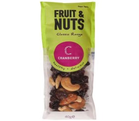 Cranberry Snack Shot Fruit & Nuts (24 x 40g)