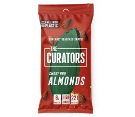 The Curators - Smoky BBQ Almonds (12 x 35g)