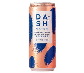 Dash Water - Peach (12 x 330ml)