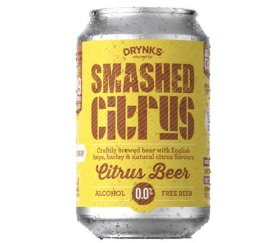 Drynks Unlimited - Smashed Alcohol Free Citrus Beer (12 x 300ml)