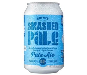 Drynks Unlimited - Smashed Alcohol Free Pale Ale (12 x 300ml)