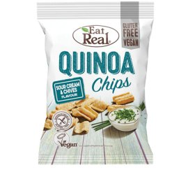 Eat Real Sharing Quinoa Sour Cream & Chive (10 x 80g)