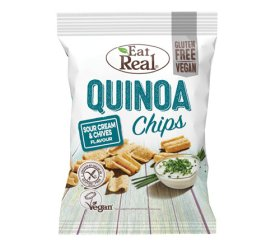 Eat Real Quinoa Chips Sour Cream & Chive (24 x 22g)