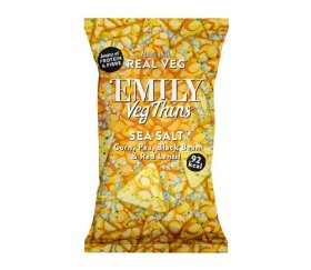 Emily Crisps - Sea Salt Vegetable Thins (24 x 23g)