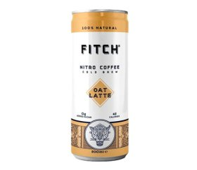 FITCH Cold Brew Coffee - Oat Latte (12x200ml)