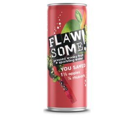 Flawsome! Sparkling Juice - Apple & Rhubarb (24 x 250ml)