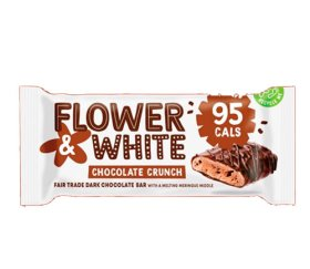 Flower & White Meringue Bar - Chocolate Crunch (12x20g)
