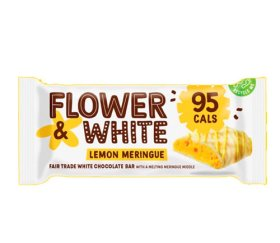 Flower & White Meringue Bar - Lemon Meringue (12x20g)