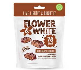 Flower & White Meringue Bites - Chocolate Crunch (6x75g)