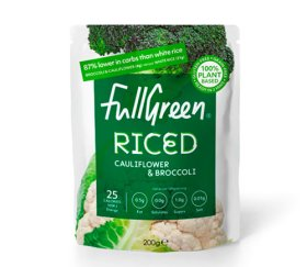 Fullgreen Riced - Cauliflower & Broccoli (6 x 200g)