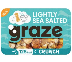 Short Dated Graze - Lightly Sea Salted Crunch (31g x 9 trays) BBD 12-07