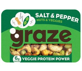 Graze - Veggie Salt & Pepper Protein Power (28g X 9 Trays)