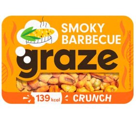Graze - Smoky BBQ Crunch (31g X 9 Trays)