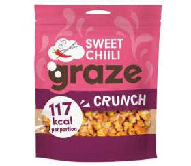 Graze Share Bags - Sweet Chilli Crunch (104g x 6 Bags)