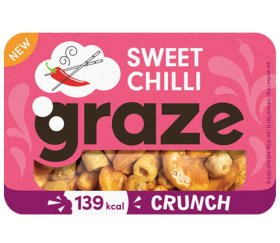 Graze - Sweet Chilli Crunch (31g x 9 trays)