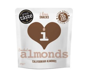 I Love Snacks - Smoked Almonds 15 x 25g