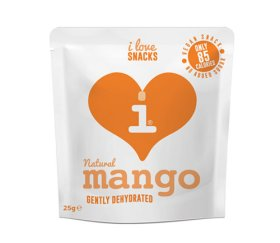 I Love Snacks - Gently Dehydrated Mango 15 x 25g