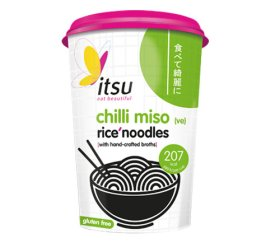 itsu - Chilli Miso Noodle Cup (6 x 63g)