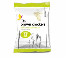 itsu - Wasabi Prawn Crackers (24 x 18g Packs)