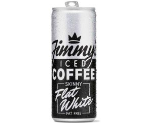 Jimmy's Iced Coffee Skinny Flat White (12x250ml)