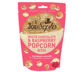 Joe & Sephs Salted Caramel Popcorn Bites - White Chocolate (7 x 63g)