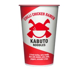 Kabuto Chilli Chicken Ramen Noodles (6 x 85g)