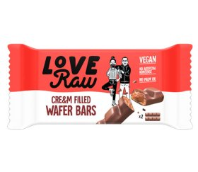 LoveRaw Vegan Cream-Filled Wafer (12x43g)