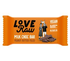 LoveRaw Chocolate Bar - Peanut Butter M:lk (18x30g)