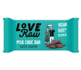 LoveRaw Chocolate Bar - Salted Caramel M:lk (18x30g)